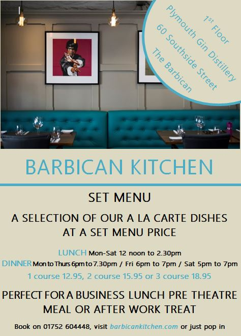 Barbican Kitchen Fresh Local Food From Chris And James Tanner